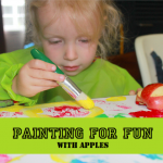 Easy Peasy Kids: Apple Print Painting