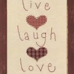 "Happy Easter ""Live Love Laugh"""