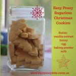 Easy Peasy Sugarless Cookies made with honey.