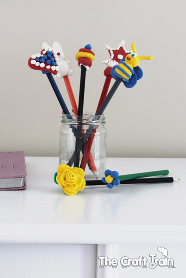 easy peasy pencil toppers