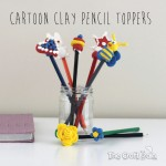 Easy Peasy Cartoon Clay Pencil Toppers